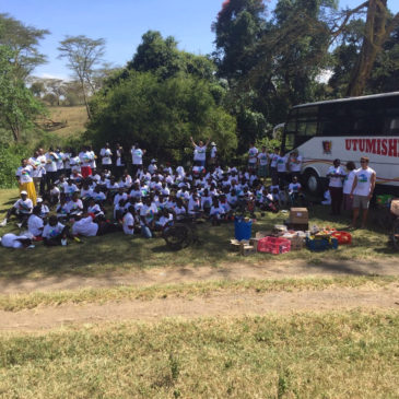 Gilgil Special School visit Lake Nakuru National Park
